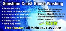 Sunshine Coast House Washing Yandina Maroochydore Area Preview