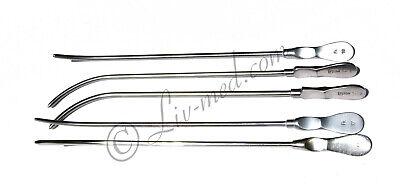 Harnröhren Dilatator - Aesculap  EF 650R - Urethral dilator Dittel - 5 Stück