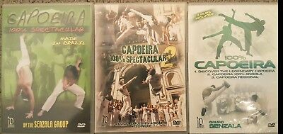 Capoeira 3 DVD Set brazilian martial arts taekwondo dance fighting brake dance