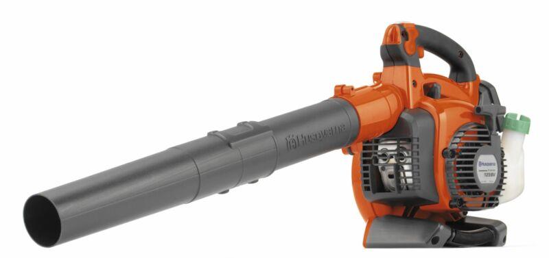 Husqvarna 125BVX 28cc 2-Cycle Gas 470 CFM 170 MPH Handheld Leaf Blower/Vacuum,