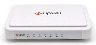 ADSL2+ DSL Broadband Modem 24Mbps/3.5Mbps 4 Port Wired Router UPVEL UR-104AN(EU)