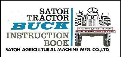 Satoh Buck S470 Operator Maintenance Instruction Manual S-470 S-470d