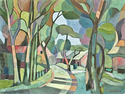 Sonja Wüsten - o. T. - Temperamalerei auf Hartfaser - 1994