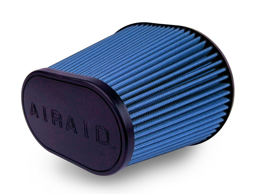 """Airaid 9/"""" Universal SynthaMax Blue Oval Tapered Air Filter #723-472"""