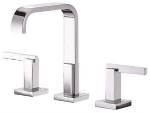 New  Danze D304644 Sirius Two Handle Mini-Widespread Lavatory Faucet, Chrome Condition: New