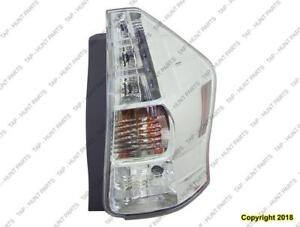 Tail Lamp Passenger Side High Quality [Prius-V 2012-2014] Toyota Prius