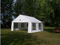 6m x 4m Gala Tent Party Garden Wedding Marquee Original (PE)