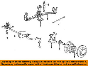 Ford 99 04    F       350       Super       Duty    Front Suspension Shackle F81Z5B311AA   eBay