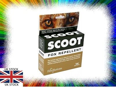 Scoot Fox Repellent 100g Humane Fox Control Urban Pest Deterrent NEW FREE P&P