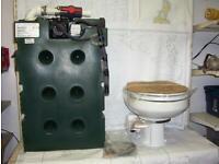 Boaters' Resale Shop of TX 2101 1522.01 DOMETIC VACU-FLUSH SANITATION SYSTEM