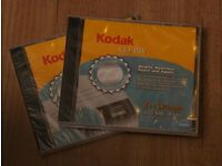 Blank CDs and envelopes