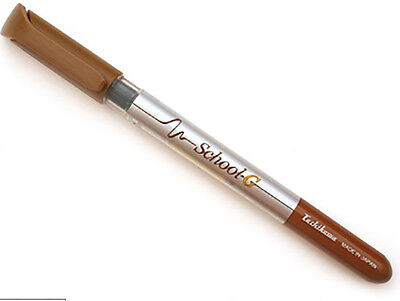 Tachikawa Comic Managa Fine Fountain Pen -Brown Sepia Ink 0.2-0.5mm- G model Nib