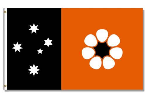 New 90x150cm NT Northern Territory State Flag Australia Polyester Sport Official