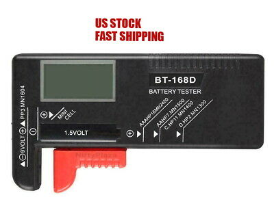 Digital Battery Tester Checker 1.5V And AA AAA Cell BT-168D LCD Power Measure Lcd Battery Tester