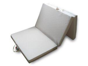Materasso letto futon pieghevole memory foam singolo 90x200 materassino pouf ebay - Materasso memory foam ikea ...