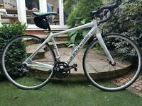 Cannondale Synapse 18inch ladies carbon road bike.