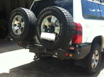 Toyota LandCruiser 105 MCC Rear Bar & Twin Tyre Carriers 022-02 [ Osborne Park Stirling Area Preview