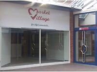 Market Stalls To Let in the new Market Village Unit