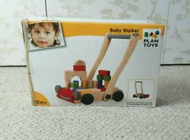 Wooden Baby Walker PlanToys RRP 70