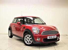 MINI HATCH ONE 1.6 ONE 3d 98 BHP + 2 PREV OWNER + SERVICE HISTORY (red) 2011