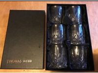 Thomas Webb Decanter and Glassed