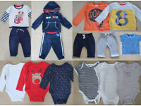 Bundle of Baby Boy Clothes 6 to 9 months (15 pieces)