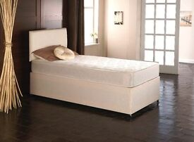 Brandnew Single Divan Memoryfoam Mattress TWO Storage Drawers £99