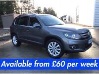 Volkswagen Tiguan (RAV 4 Kuga Qashqai X3 X1 ASX Sportage) £240 per month