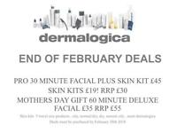 DERMALOGICA FACIAL AND SHELLAC NAILS £55