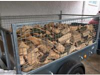 Logs trailer load 2.5 cubic meter