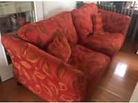 Two 3 seater couches.