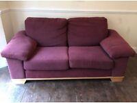 2 Seat Sofa Fabric