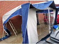 Bradcot Active Caravan Awning Blue 870 With Skirt and Possible Bedroom Annex Norwich Area