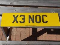 **Private Number Plate **