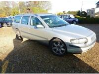 2002 VOLVO V70 SE D5 FULLY LOADED HEATED LEATHER PARKING YEARS MOT PX