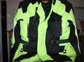 motorcycle jacket motorbike coat hi vis jacket coat