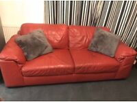 For sale Ex display Large red ScS 2 seater Sofa