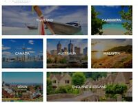 Online travel business for sale