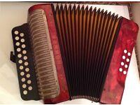 Hohner Erica Bb/Eb button accordion