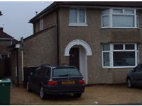 Small but delightful one bedroom garden flat recently decorated/carpeted in no through road. Cowley