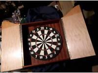 Custom made Dartboard cabinet
