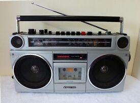 SANYO M9916L Vintage Boombox,Made in Japan