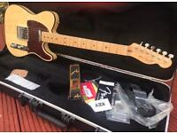 MINT! Fender USA 60th Anniversary Lamboo Telecaster & Fender Case & Tags