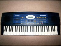Roland EM-20 , 61-Key Creative Keyboard Arranger Piano. 354 Tones and 12 Drum Sets / DGX , PSR , NP.
