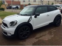 Mini Cooper S Paceman Coupe, 1.6 petrol, White, 2014