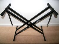 Duronic KS2 , Piano , Keyboard , Synthesizer Stand for for Korg , Roland , Yamaha and other.