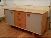 Boundary Sideboard in Warm Grey by Made