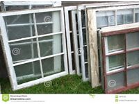 WANTED: old windows/ glass doors