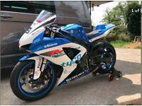 Suzuki GSXR600 2010 Track bike Tyco