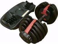 TurnerMAX Selectable Dumbbells For Gym Fitness & Home Fitness Training Single